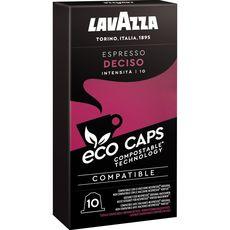 LAVAZZA Café decisio en capsule compatible Nespresso 10 capsules 53g