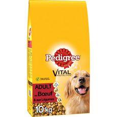 PEDIGREE Adult croquettes au boeuf et légumes pour chien 10kg