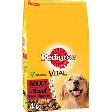 PEDIGREE Adult croquettes au boeuf et légumes pour chien 4kg