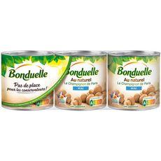 BONDUELLE Bonduelle mini champignons 3x115g