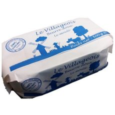 LE VILLAGEOIS Le Villageois Beurre doux 82%MG 500g 500g