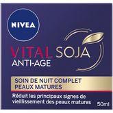 Nivea Nivea Vital Soja soin de nuit complet peaux matures 50ml