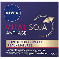NIVEA Vital Soja soin de nuit complet peaux matures 50ml