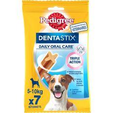PEDIGREE Dentastix friandises hygiène dentaire pour petit chien 7 pièces