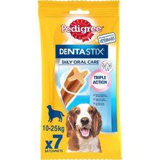 PEDIGREE Dentastix stick hygiène dentaire pour chien moyen 7 pièces