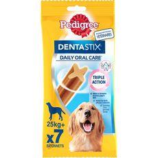 PEDIGREE Dentastix stick hygiène dentaire pour grand chien 7 pièces