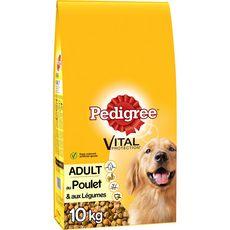 PEDIGREE Adult croquettes au poulet et légumes pour chien 10kg