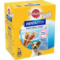 PEDIGREE Dentastix friandises hygiène dentaire pour petit chien 28 pièces