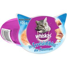 Whiskas Les irrésistibles friandises au saumon pour chat 105g