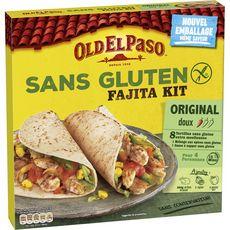 Old El Paso OLD EL PASO Kit pour fajita sans gluten sans conservateur - doux