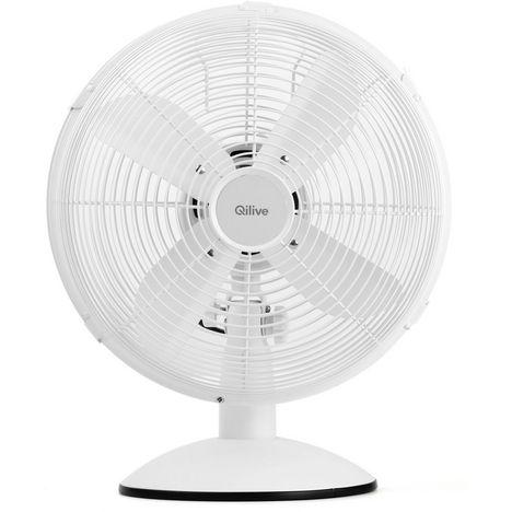QILIVE Ventilateur de table Q.5602 Blanc