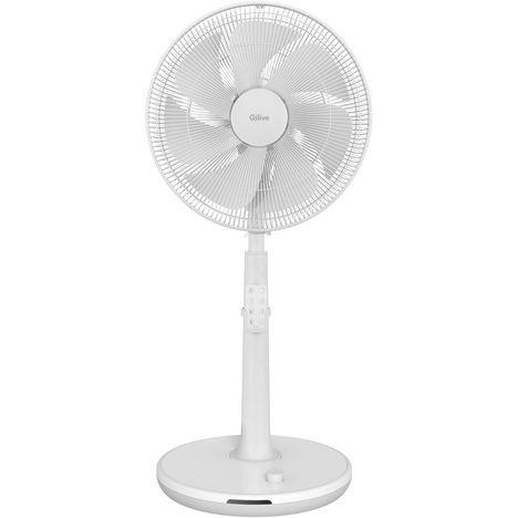 QILIVE Ventilateur 152246 - Blanc