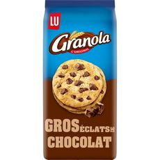 GRANOLA Cookies gros éclats de chocolat 184g