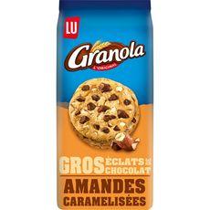 GRANOLA Granola chunks chocolat amandes caramélisées 184g