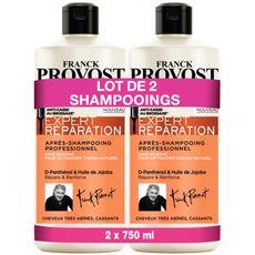 Franck Provost Expert Réparation après-shampooing cheveux abîmés 2x750ml
