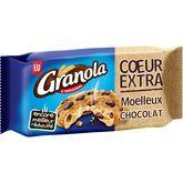 LU granola cookies coeur extra chocolat 182g