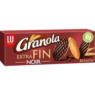 LU Granola biscuit sablé extra fin noir 170g