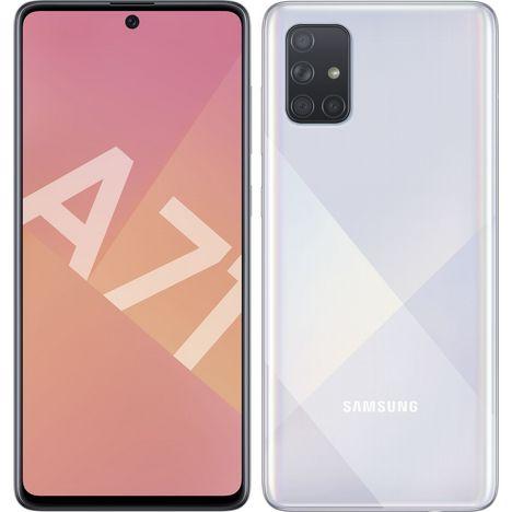 SAMSUNG Smartphone GALAXY A71  128 Go 6.7 pouces Silver  4G  Double nanoSIM