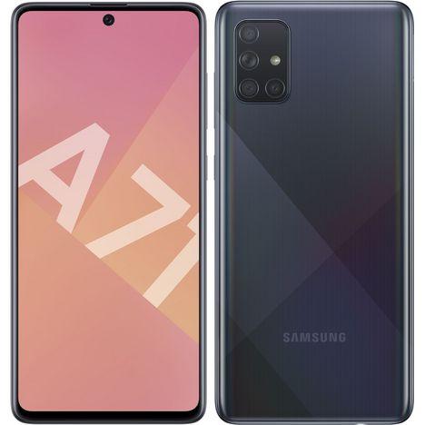 SAMSUNG Smartphone GALAXY A71 128 Go 6.7 pouces Noir  4G  Double nanoSIM