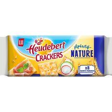 HEUDEBERT Crackers apéritifs nature 250g