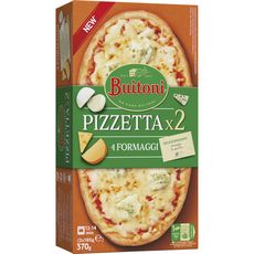 BUITONI Pizzetta 4 fromages 2 pizzas 370g