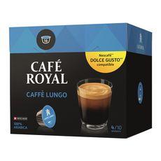 Nescafé CAFE ROYAL Café lungo en capsule pour Dolce Gusto et Nespresso