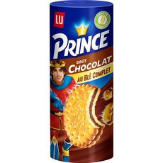 PRINCE Prince Biscuits fourrés goût chocolat au blé complet 300g 300g