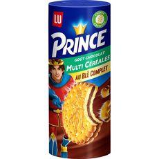 PRINCE Prince Biscuits goût chocolat multi céréales au blé complet 293g 293g