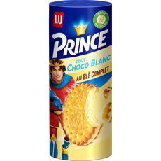 PRINCE Prince Biscuits goût chocolat blanc au blé complet 300g 300g