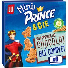 PRINCE Prince Mini biscuits aux pépites de chocolat sans conservateurs, sachets fr 147g