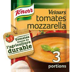 Knorr soupe déshydratée velours de tomate et mozzarella 96g