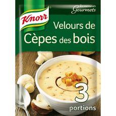 Knorr moments gourmets velours de cèpes des bois 91g