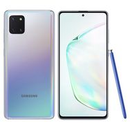 SAMSUNG Smartphone Galaxy Note 10 Lite 128 Go 6.7 pouces Silver 4G Double NanoSIM