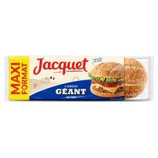 Jacquet Burgers géants nature maxi format x6 -495g