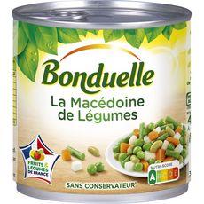 BONDUELLE Macédoine de légumes de France, sans conservateur 265g
