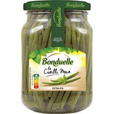 Bonduelle Haricots verts extra-fins cueillis main, en bocal 280g