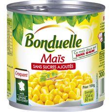 BONDUELLE Maïs croquant sans sucres ajoutés sans OGM, Origine sud-ouest 285g