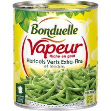 BONDUELLE Bonduelle Haricots verts vapeur extra-fins et tendres origine France 440g 440g