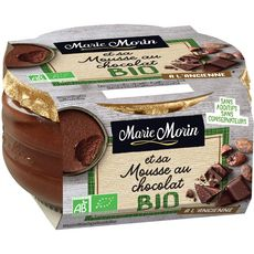 MARIE MORIN MARIE MORIN Mousse au chocolat bio 100g 100g