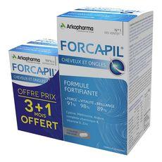 ARKOPHARMA Arkopharma Forcapil gélules formule fortifiante cheveux et ongles x240 240 pièces