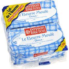 PAYSAN BRETON Paysan Breton Beurre moulé doux 2x250g 2x250g