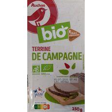 Auchan Bio Terrine de campagne 150g