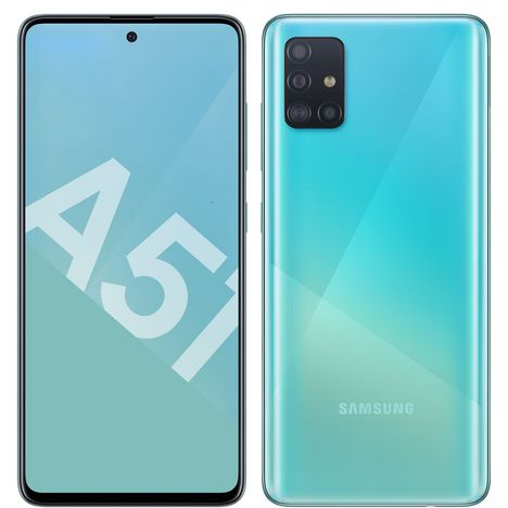 SAMSUNG Smartphone GALAXY A51 128 Go  6.5 pouces Bleu 4G Double NanoSIM