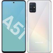 SAMSUNG Smartphone GALAXY A51 128 Go  6.5 pouces Blanc 4G Double NanoSIM
