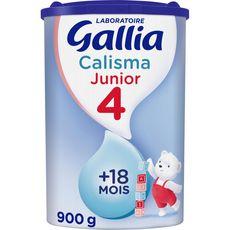 GALLIA Junior 4 lait junior en poudre dès 18 mois 900g