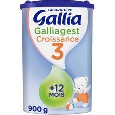 Gallia Galliagest 3 lait de croissance en poudre dès 12 mois 900g