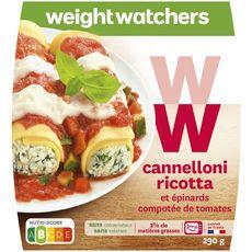 Weight Watchers Cannelloni à la ricotta et aux épinards 290g