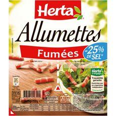 HERTA Herta Allumettes -25% de sel fumées 2x75g 2x75g