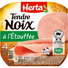 HERTA Herta tendre noix 4 tranches 160g 4 tranches 160g