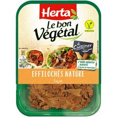 HERTA Herta Effiloché végétal nature 100g 100g